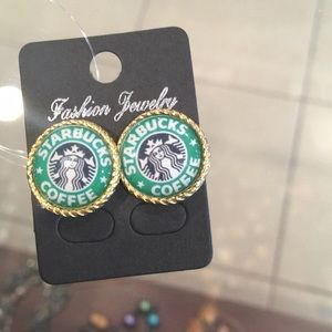 Jewelry - Starbucks Earrings✨
